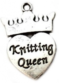 Bedeltje 'Knitting Queen'