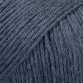 Bomull-Lin Uni 21 donkerblauw