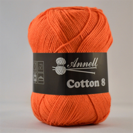 Cotton 8 - 03 donkeroranje