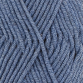 Big Merino Uni 07 denim blauw