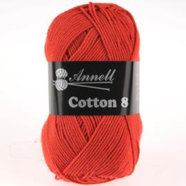 Cotton 8 - 04 oranje/rood