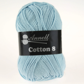 Cotton 8 - 42 lichtblauw