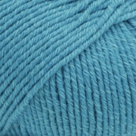 Cotton Merino Uni 24 turkoois