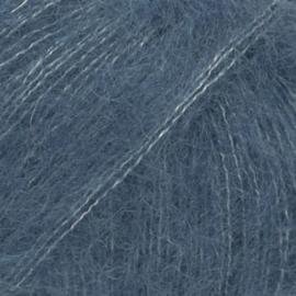 Kid-Silk Uni 27 jeansblauw
