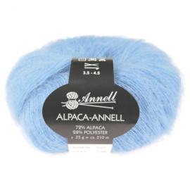 Alpaca-Annell 5740 blauw