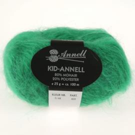 Kid-Annell 3148 gras groen
