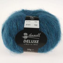 Deluxe 4141 turkoois/koningsblauw
