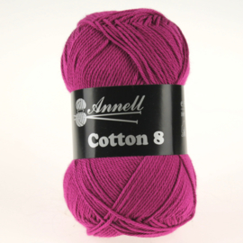 Cotton 8 - 80 donkerpaars