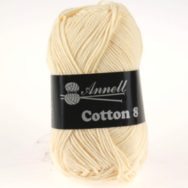 Cotton 8 - 18 zandgeel