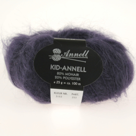 Kid-Annell 3153 donker paars