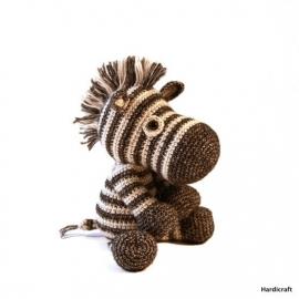 Haakpakket DIY - Dirk zebra