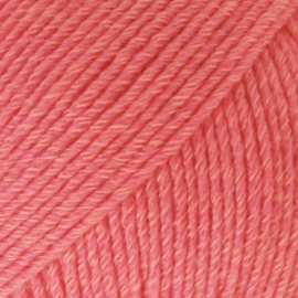 Cotton Merino Uni 13 koraal