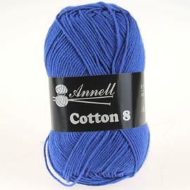 Cotton 8 - 38 kobaltblauw