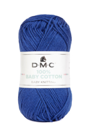 100% Baby Cotton 798 persian blue