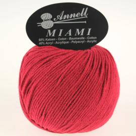 Miami 8913 donkerrood