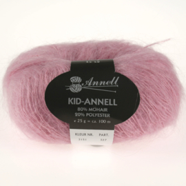 Kid-Annell 3151 oudroze