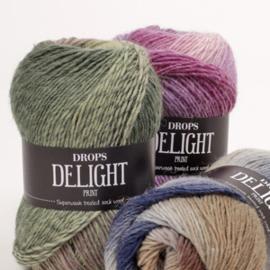 Delight Print 05 beige/grijs/roze