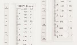 Naalddiktemeter Drops Design
