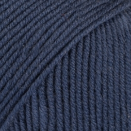 Baby Merino Uni 30 blauw