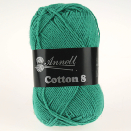 Cotton 8 - 47 oceaan/zeegroen