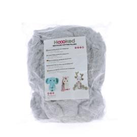 Katoenvulling 100% recycled - grijs