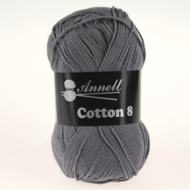 Cotton 8 - 58 donkergrijs