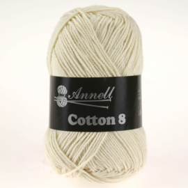 Cotton 8 - 60 natural/lichtécru