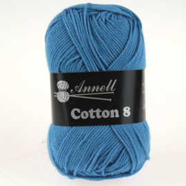 Cotton 8 - 39 blauw