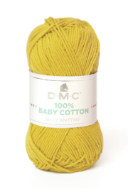 100% Baby Cotton 771 yellow