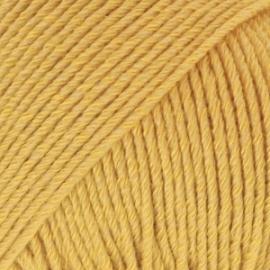 Cotton Merino Uni 15 mosterdgeel