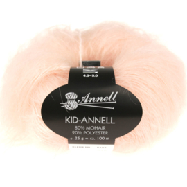 Kid-Annell 3116 poederroze