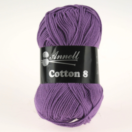 Cotton 8 - 53 paars