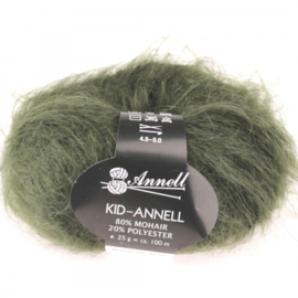Kid-Annell 3119 leger groen