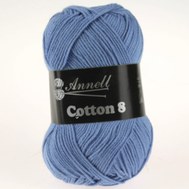 Cotton 8 - 55 avond/blauw