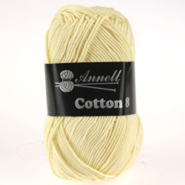 Cotton 8 - 14 pastelgeel