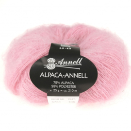Alpaca-Annell 5751 oud rose