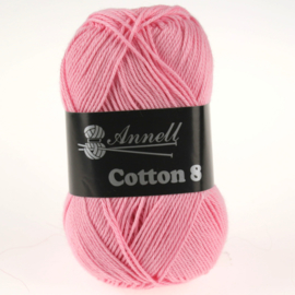 Cotton 8 - 32 roze
