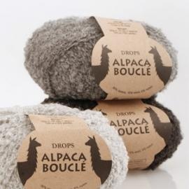 Alpaca Bouclé Mix 0506 donkergrijs