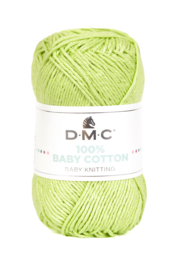 100% Baby Cotton 779 lime fizz