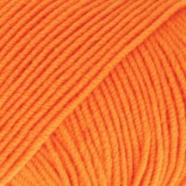 Baby Merino Uni 36 oranje