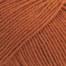 Cotton Merino Uni 25 roest
