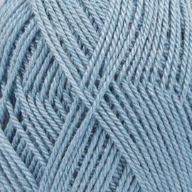 BabyAlpaca Silk Uni 6235 grijsblauw