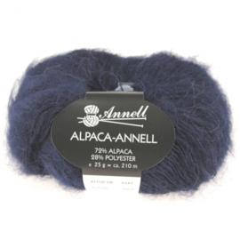 Alpaca-Annell 5726 marine blauw