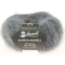 Alpaca-Annell 5757 midden grijs