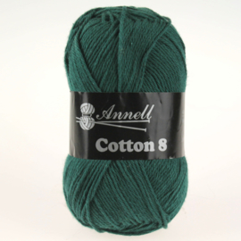 Cotton 8 - 45 smaragdgroen