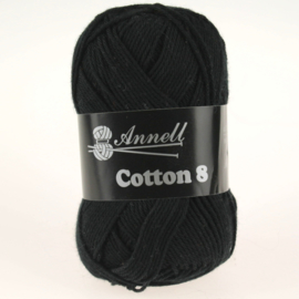 Cotton 8 - 59 zwart