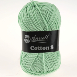 Cotton 8 - 22 pastelgroen