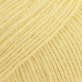 Cotton Merino Uni 17 vanille