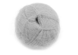 Mohair Brushed Lace - 3079 zilvergrijs