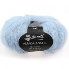 Alpaca-Annell 5742 zacht blauw